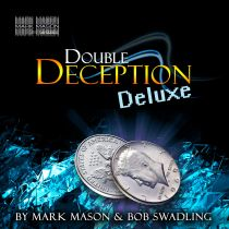 DOUBLE DECEPTION DELUXE HALF DOLLAR BY MARK MASON & BOB SWADLING